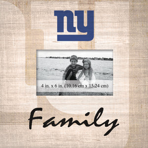 New York Giants Family Picture Frame