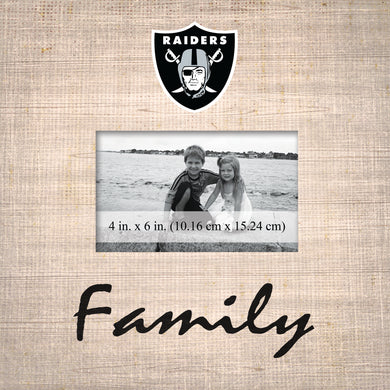 Oakland Raiders Family Picture Frame