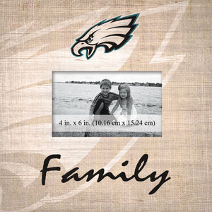 Philadelphia Eagles Family Picture Frame