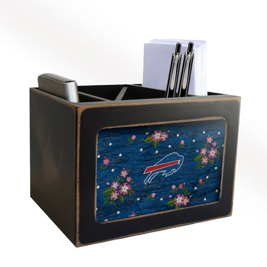 Buffalo Bills Floral Desktop Organizer