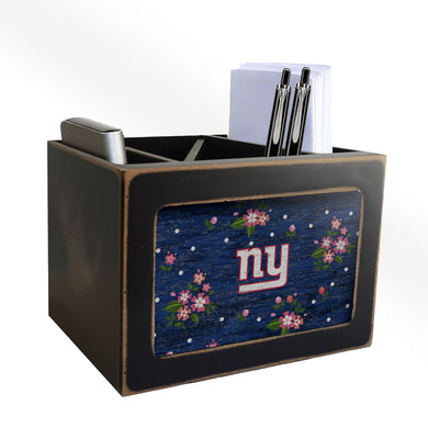 New York Giants Floral Desktop Organizer