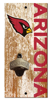 Arizona Cardinals Distressed Bottle Opener