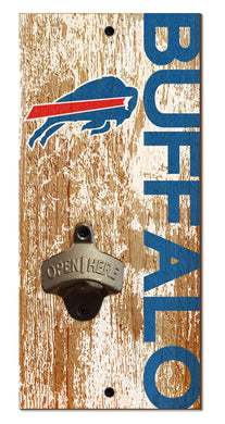 Buffalo Bills Distressed Bottle Opener