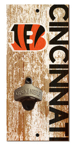 Cincinnati Bengals Distressed Bottle Opener
