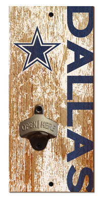 Dallas Cowboys Distressed Bottle Opener