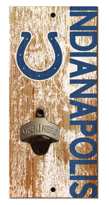 Indianapolis Colts Distressed Bottle Opener