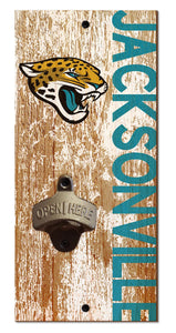 Jacksonville Jaguars Distressed Bottle Opener