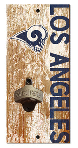 Los Angeles Rams Distressed Bottle Opener