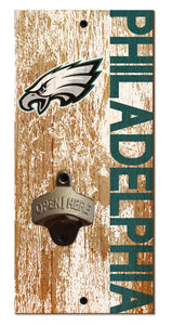 Philadelphia Eagles Distressed Bottle Opener