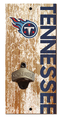 Tennessee Titans Distressed Bottle Opener