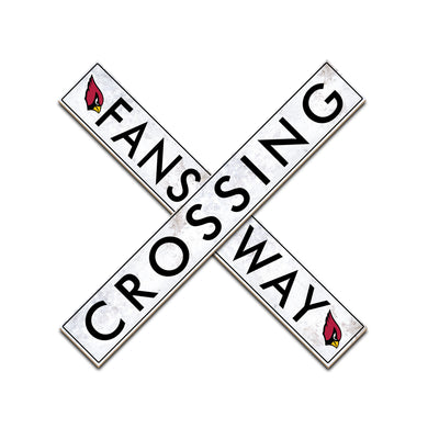 Arizona Cardinals Fans Way Crossing Wall Art