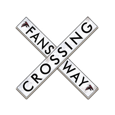 Atlanta Falcons Fans Way Crossing Wall Art - 24