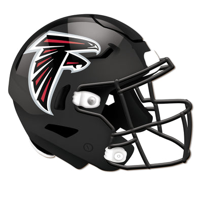 Atlanta Falcons Authentic Helmet Cutout 24
