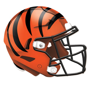 Cincinnati Bengals Authentic Helmet Cutout