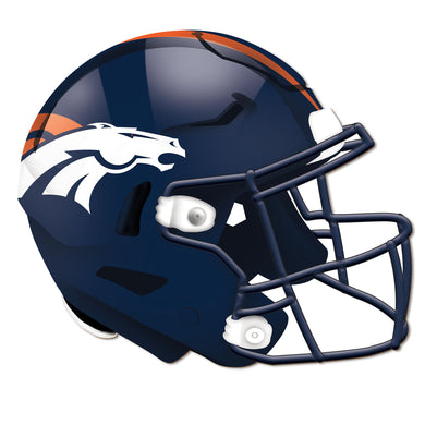 Denver Broncos Authentic Helmet Cutout