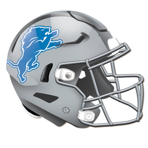 Detroit Lions Authentic Helmet Cutout -12""