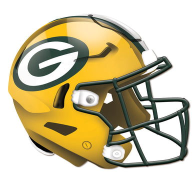 Green Bay Packers Authentic Helmet Cutout