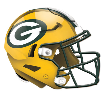 Green Bay Packers Authentic Helmet Cutout -12