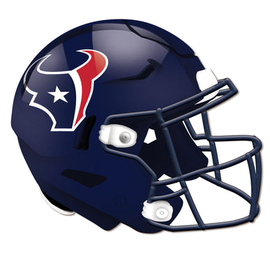 Houston Texans Authentic Helmet Cutout