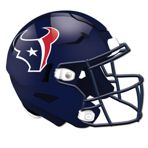 Houston Texans Authentic Helmet Cutout -12""
