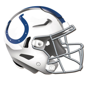 Indianapolis Colts Authentic Helmet Cutout -12""