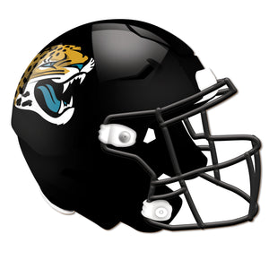 Jacksonville Jaguars Authentic Helmet Cutout 24""