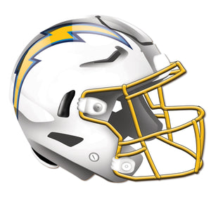 Los Angeles Chargers Authentic Helmet Cutout -12""