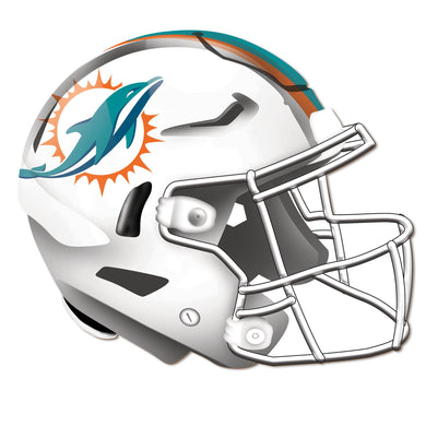 Miami Dolphins Authentic Helmet Cutout -12
