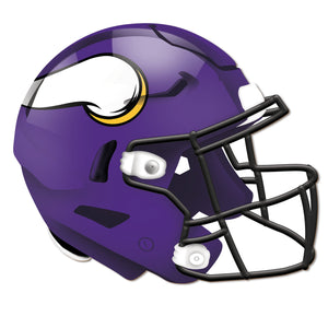 Minnesota Vikings Authentic Helmet Cutout -12""