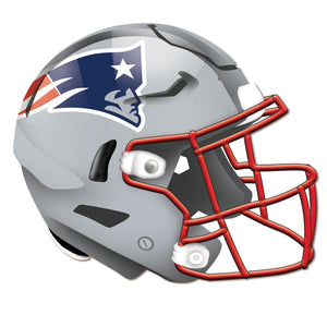New England Patriots Authentic Helmet Cutout -12""
