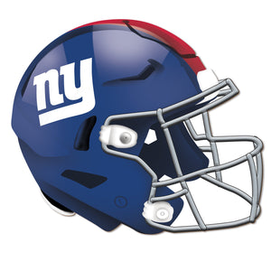 New York Giants Authentic Helmet Cutout -12""