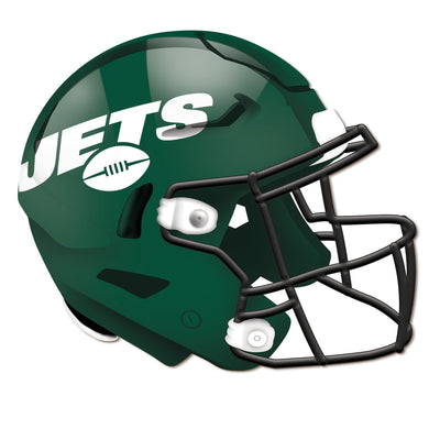 New York Jets Authentic Helmet Cutout -12