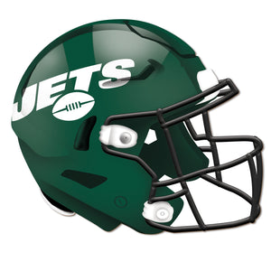 New York Jets Authentic Helmet Cutout -12""