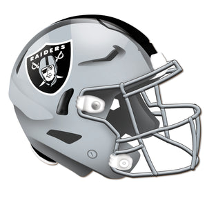 Oakland Raiders Authentic Helmet Cutout
