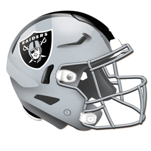 Oakland Raiders Authentic Helmet Cutout -12""