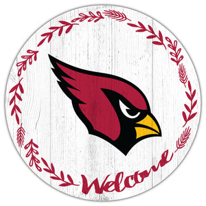 Arizona Cardinals Welcome Circle Sign