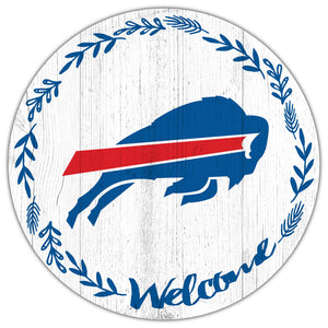 Buffalo Bills Welcome Circle Sign