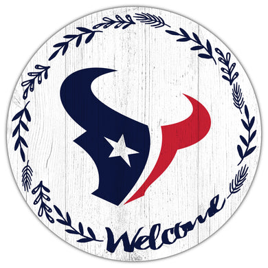 Houston Texans Welcome Circle Sign