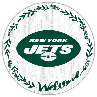 New York Jets Welcome Circle Sign