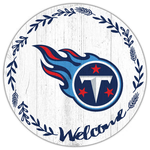 Tennessee Titans Welcome Circle Sign