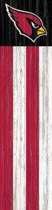 "Arizona Cardinals Flag Door Leaner - 6""x24"""