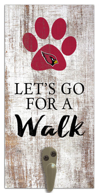 Arizona Cardinals Leash Holder Sign 6