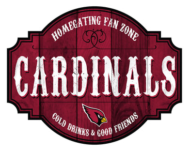 Arizona Cardinals Homegating Wood Tavern Sign -12