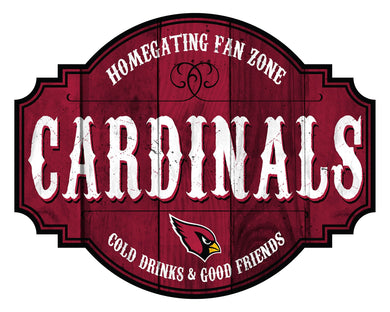 Arizona Cardinals Homegating Wood Tavern Sign -24