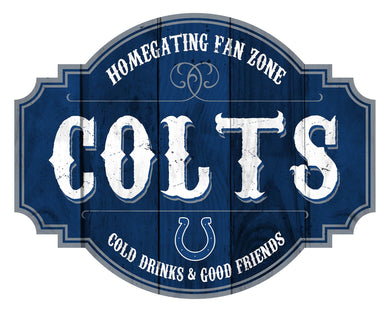 Indianapolis Colts Homegating Wood Tavern Sign -24