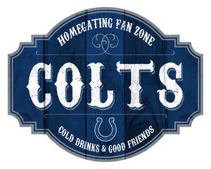 Indianapolis Colts Homegating Wood Tavern Sign -12""