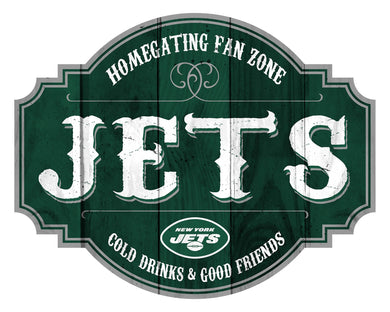 New York Jets Homegating Wood Tavern Sign -24