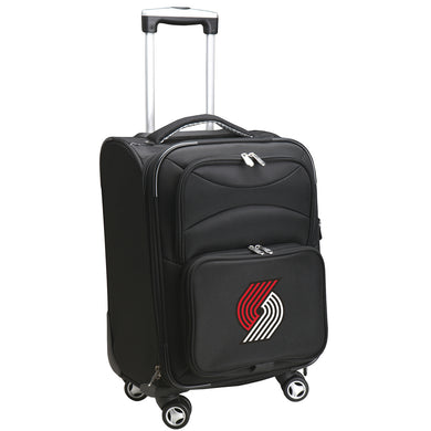Portland Trailblazers Luggage Carry-On 21in Spinner Softside Nylon