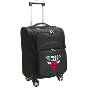 Chicago Bulls Luggage Carry-On 21in Spinner Softside Nylon
