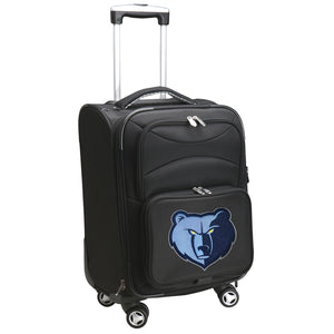 Memphis Grizzlies Luggage Carry-On 21in Spinner Softside Nylon